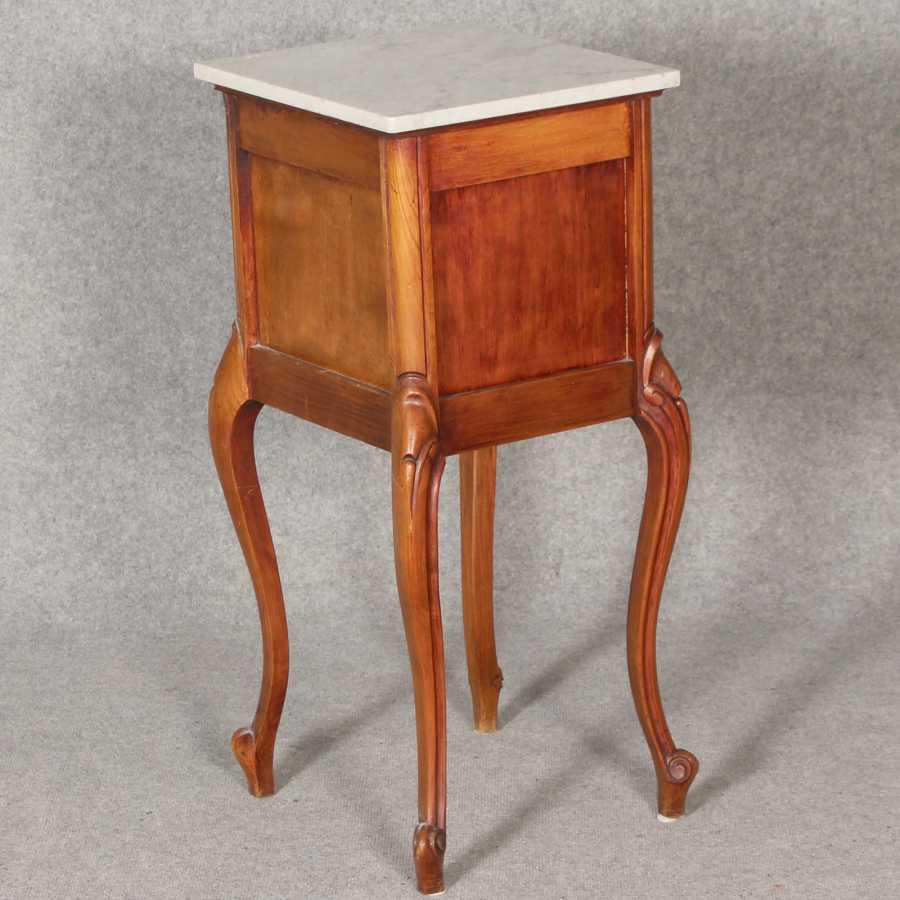 Antiker tisch tische barocktisch biedermeiertisch for Esstisch marmorplatte