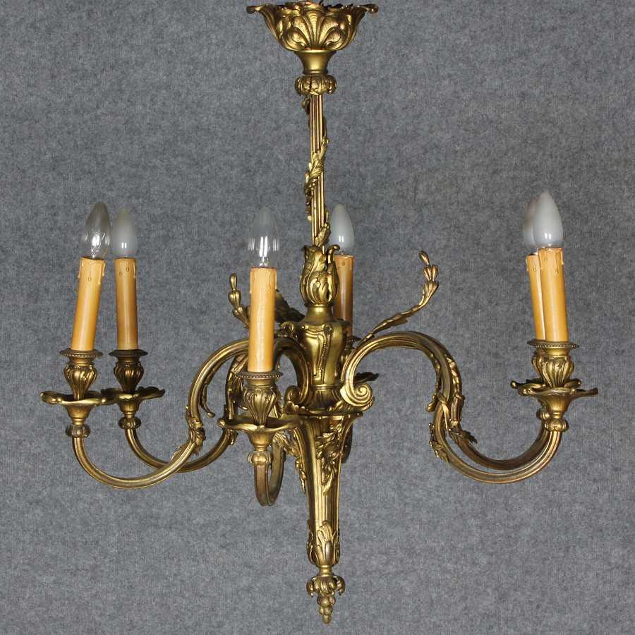 Antike Kronleuchter Deckenlampe Stehlampe Lüster Lampe Kristall Jugendstil  Um 1890 1900 1910 1920 1930 1940 1950 1960 Französische Art Deco ...