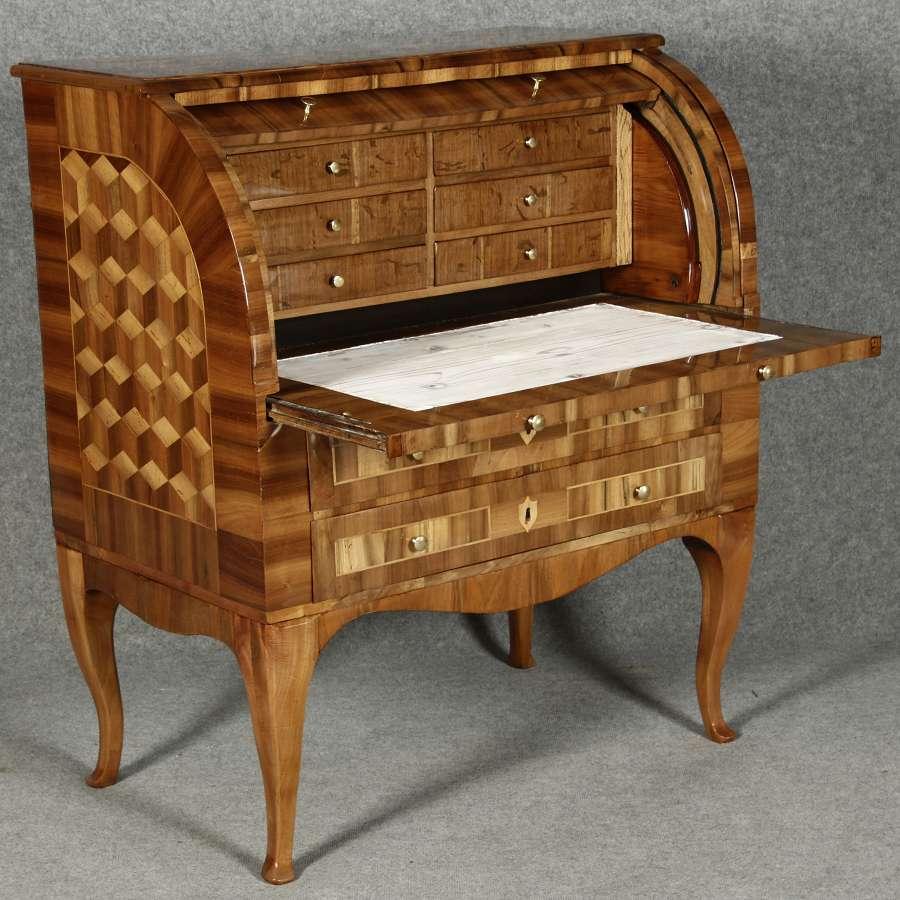 antiker sekret re schreibtisch barocksekret re. Black Bedroom Furniture Sets. Home Design Ideas