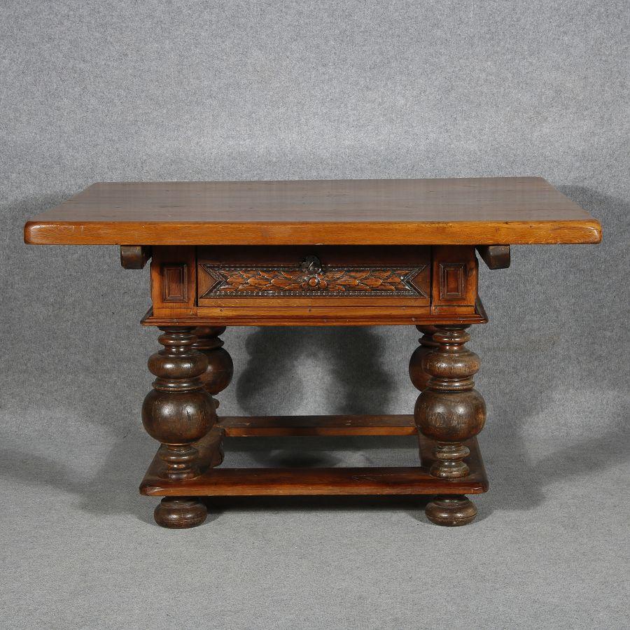 Antiker Tisch Tische Barocktisch Biedermeiertisch Küchentisch